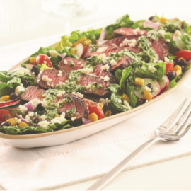 Salade de bifteck du Sud-ouest