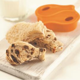 Sandwiches au fromage à la crème-cannelle