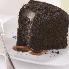 Effusion de lave chocolatée