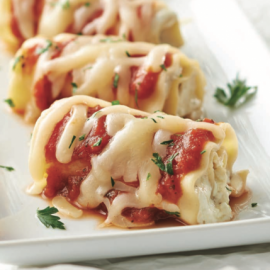 Roulés de lasagne