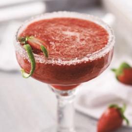 Margaritas à la fraise