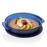 Plat Superpo-cuisson TupperOndes® 1 pte/1 L avec couvercle de conservation